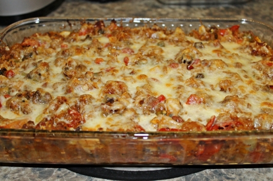 Baked Spaghetti Squash Casserole The Journey Of Two