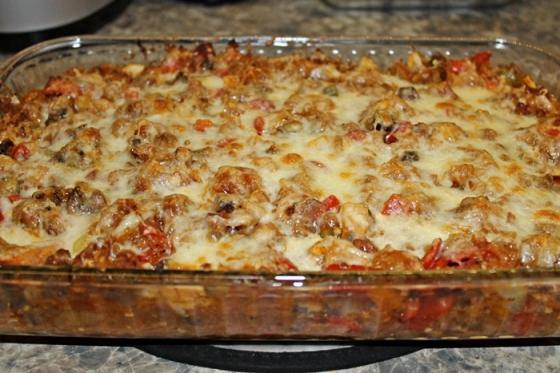 how to make spaghetti casserole